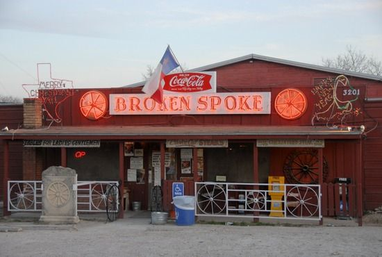 Broken Spoke.  Austin, Texas.