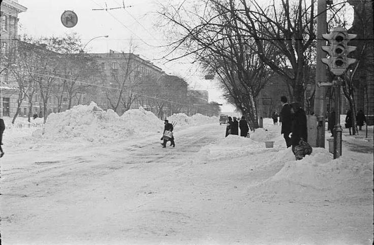 Chişinău. 10 ianuarie 1966  Foto: OldChisinau