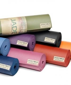 Jade Yoga Mats  They're the BEST yoga mats!