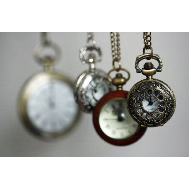 Pocket watches: Pockets Watches, Amazing Stuff, Watch, Accessories Jewelry Sho, Antiques Clocks, Awesome Accessories 16, Alice, Watches Vintage, Watches Necklaces