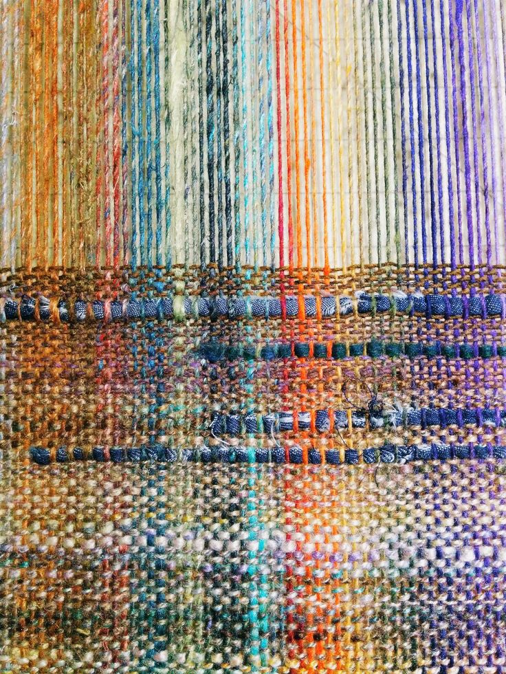 Yarn as warp