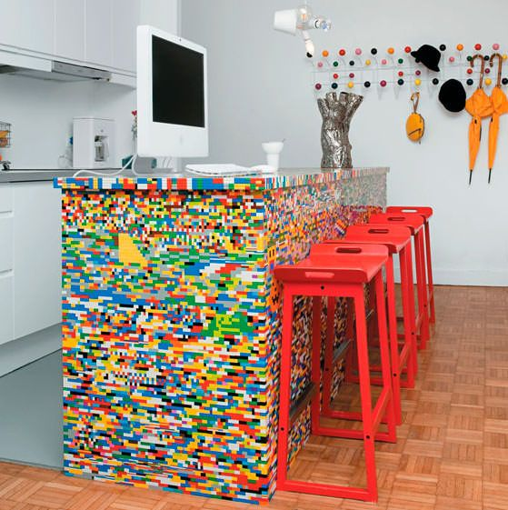 Lego Island Repurposing Old Toys Into Awesome Home Decor