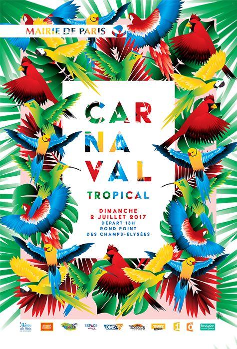 Carnaval tropical de paris paris poster events pinterest de paris and paris poster - Carnaval tropical de paris 2017 ...
