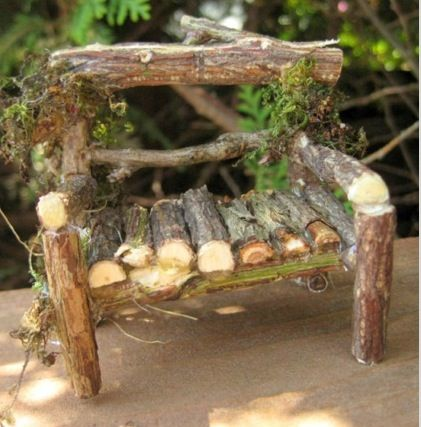 Could this be made using sticks found in #fairyforest? I love it!