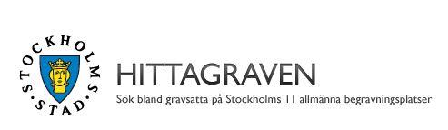 Hitta graven - databas med gravar i Stockholm