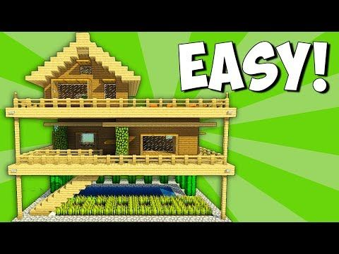 http://minecraftstream.com/minecraft-tutorials/2-player-minecraft-survival-base-with-everything-you-need-to-survive/ - 2 Player Minecraft Survival Base With Everything You Need To Survive!  Minecraft – Starter House Tutorial – How To Build A House In Minecraft!►Wooden House tutorial/ Survival base for 2 people 🙂 How to build a house in minecraft / Starter base! Today i show you how to make a huge survival base with a wooden house in the middle and 2 watchout