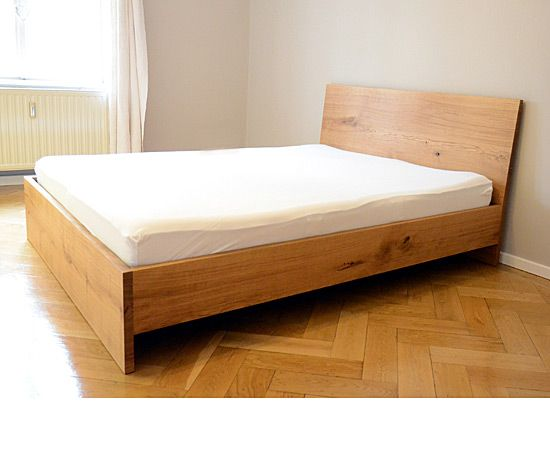 Best 25 wooden bed base ideas on pinterest wooden bed for Raw wood bed frame