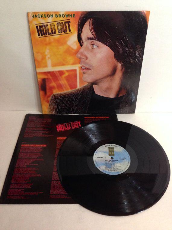 Jackson Browne Hold Out Vintage Vinyl Record Album lp 1980 Asylum Records 5E 511 by NostalgiaRocks
