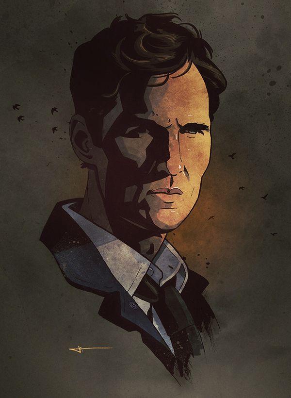 Rust Cohle (Matthew McConaughey), James White - (http://signalnoise.com/)