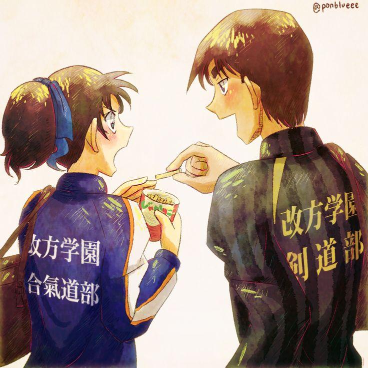 --Kazuha and Heiji--