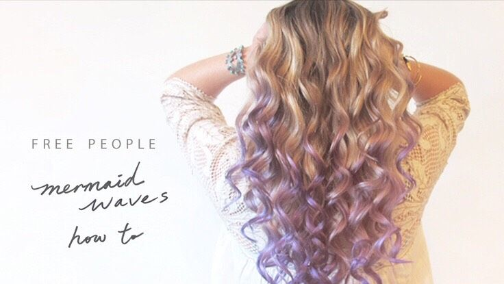 Best Mermaid Waves Tutorials Perfect For This Holiday! ❤️ #HolidayHair