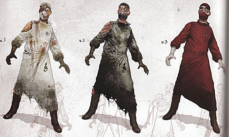 Splicer Doctor Concept Art