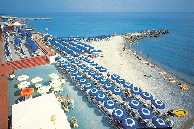 Bordighera - Where I literally spent all of my summers from ages 0 - 19..AT THIS VERY BEACH! :)