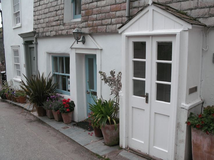 Doc Martin's Louisa Glasson's cottage  Port Isaac, Cornwall, UK