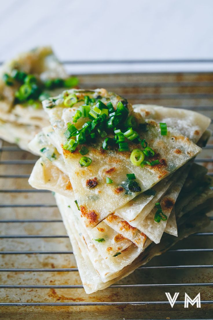 Vegan Taiwanese Scallion Pancakes