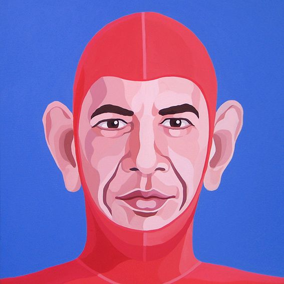 SUPER OBAMA by Giuseppe Veneziano