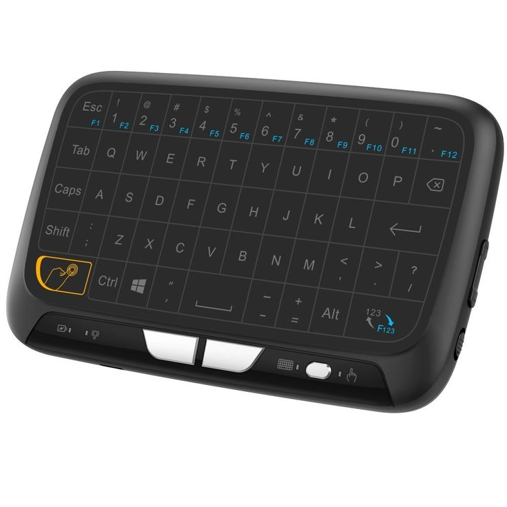 Amazon.com: Ronxs Touchpad Mini Keyboard Mouse Remote Combos 2.4GHz Wireless Full Screen Extra Large Touch Zone for Google Android TV Box, HTPC, IPTV, PC, PS3, Xbox 360, Pad: Computers & Accessories