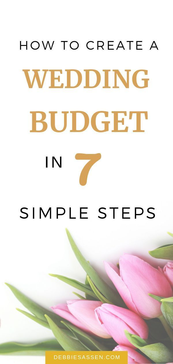 How to create a wedding budget in 7 simple steps – Good To Know