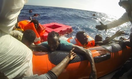 Aid agencies point to shortage of search-and-rescue vessels and the increasingly unsafe boats of people traffickers