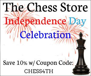 10% Off On Independence Day - The Chess Store