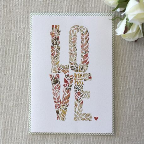 LOVE Gift Card by Customary