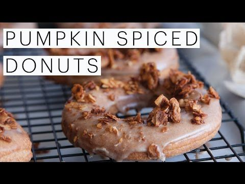 Vegan Pumpkin Spice Donuts Recipe | Celebrate Fall Vegan Style | The Edgy Veg https://i.ytimg.com/vi/vibyd91hodQ/hqdefault.jpg