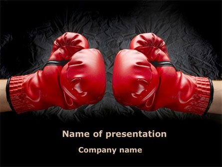 http://www.pptstar.com/powerpoint/template/red-boxing-gloves/ Red Boxing Gloves Presentation Template