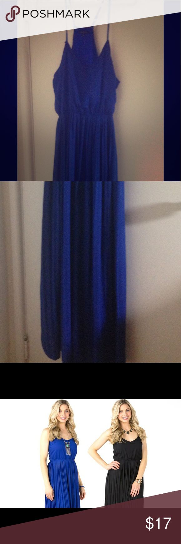 Sociology Women's Pleated Racerback Maxi Dress Long Maxi Dress bought from Groupon. super comfy :) sociology Dresses Maxi
