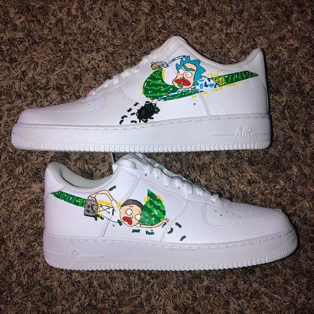 adidas rick et morty sneakers