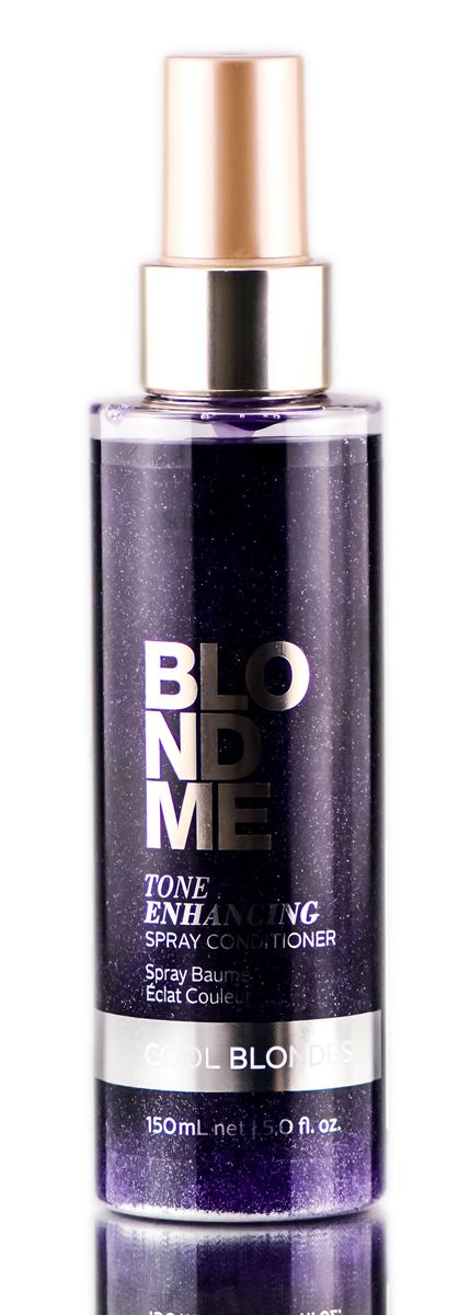 Schwarzkopf Pro BlondMe Tone Enhancing Cool Blonde Spray Conditioner