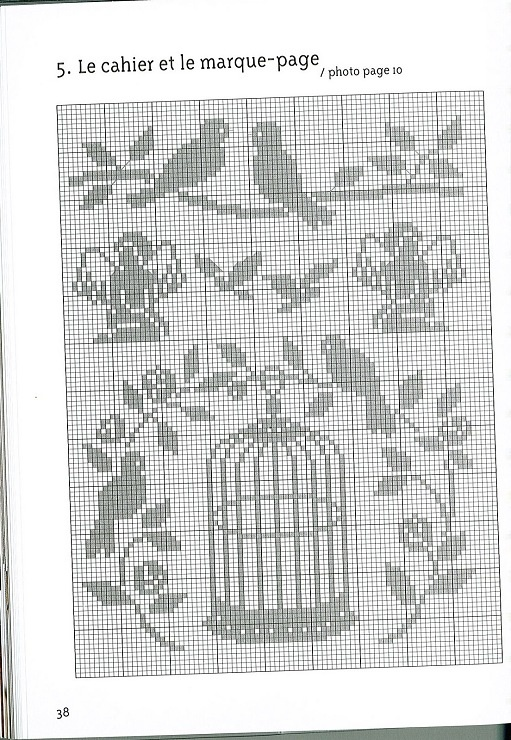 Birdcage Love Angel Cross Stitch