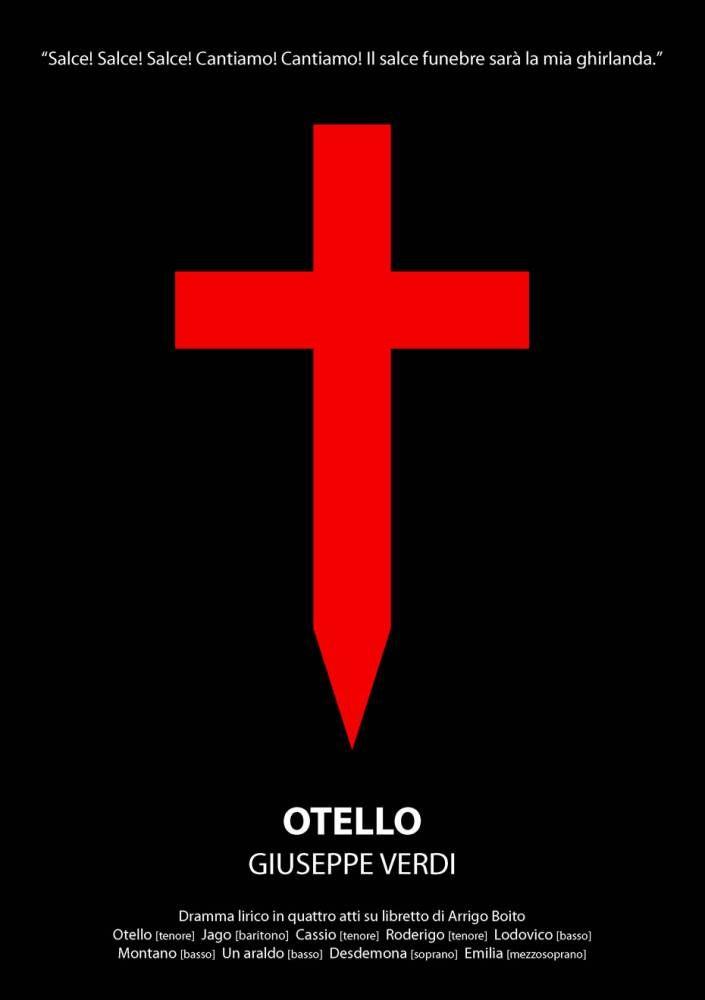Pôster Otello #concertista #musicaclassica #otello #verdi