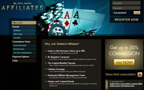 SLOTLAND AFFILIATES - The best affiliate program. Make money!    ATTENTION WEBMASTERS!  If you have a website with over 1000 visits per day  this announcement is for you. You make many money! Visit! >> http://www.slotlandaffiliates.com/?p=73093990