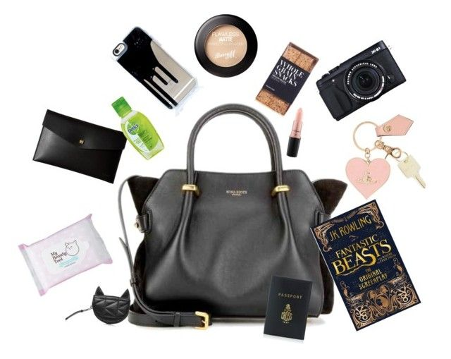 Everyday bag by ioana-constantin-1 on Polyvore featuring Nina Ricci, Mark Cross, Karl Lagerfeld, Lodis, Vivienne Westwood, The Giving Keys, MAC Cosmetics, Etude House, Nicolas Vahé and Fujifilm