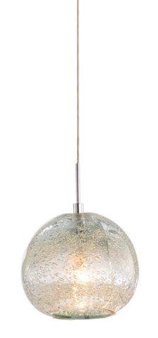 ROUND BUBBLE GLASS MINI PENDANT :: SMALL PENDANTS (USED IN MULTIPLES) :: Ceiling lights Toronto, Bath and vanity lighting, Chandelier li...