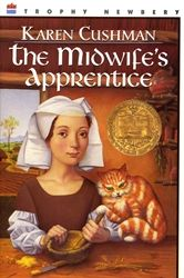 Review of the 1996 Newbery Medalist: The Midwife's Apprentice, by Karen Cushman. ONE STAR (F L W S) - A young orphaned waif forges her own identity amidst the squalor of a near-fantastical Medieval England. #NewberyMedal