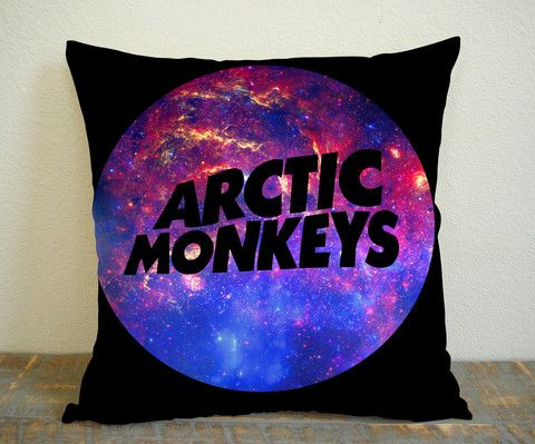 Arctic Monkeys Galaxy Logo  Pillowcases