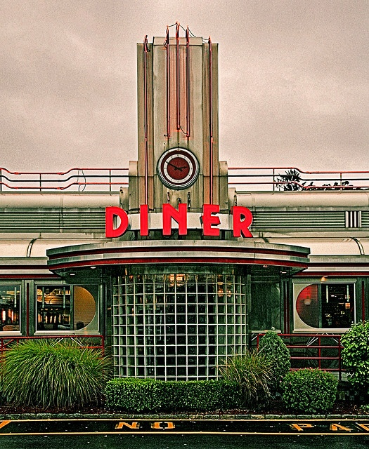 Eveready Diner, Highway 9, Hyde Park, New York ~ Copyright ©2012 Bob Travaglione ~ www.FoToEdge.com