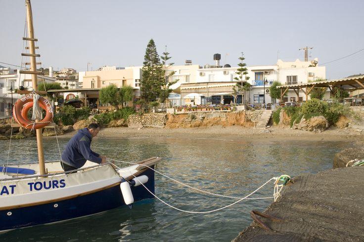 Het idyllische vissersdorpje Mochlos op Kreta