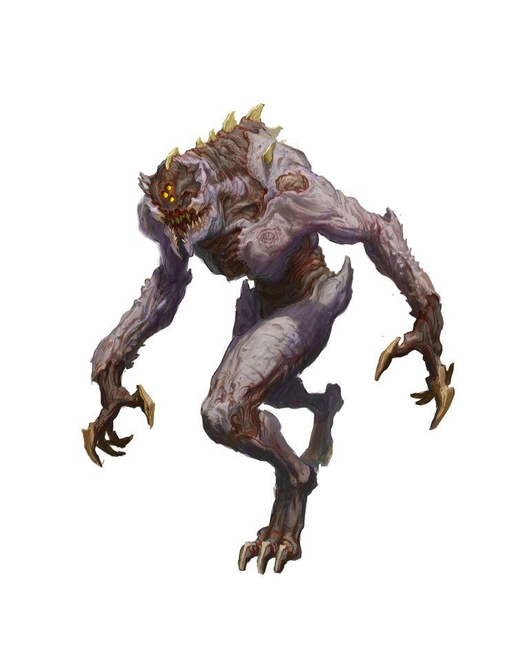 The Art of DOOM - Demons | Bethesda.net