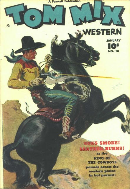 Davy Crockett's Almanack of Mystery, Adventure and The Wild West: Western comics
