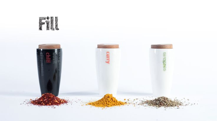 Fill - Kitchen Storage System by Flying Objects
