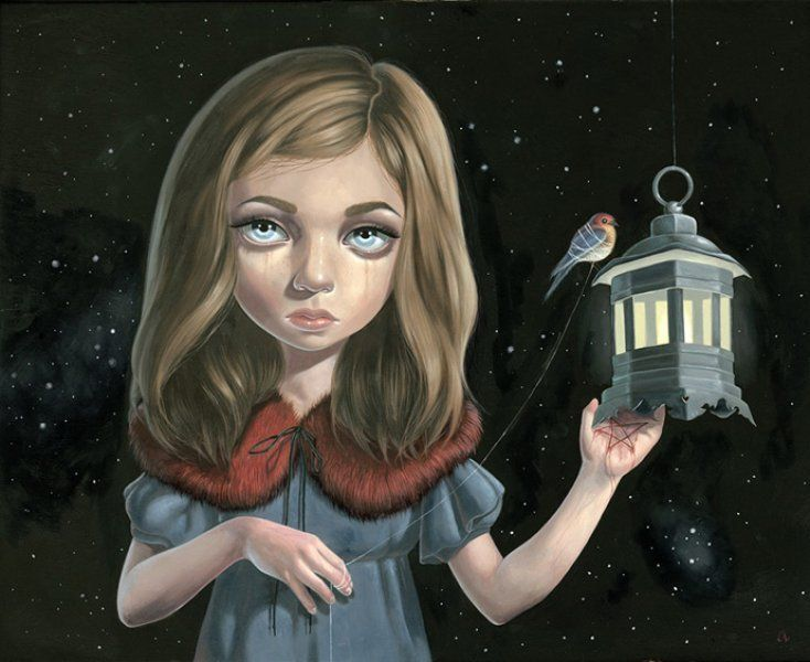 Scarlet Child  by Ana Bagayan