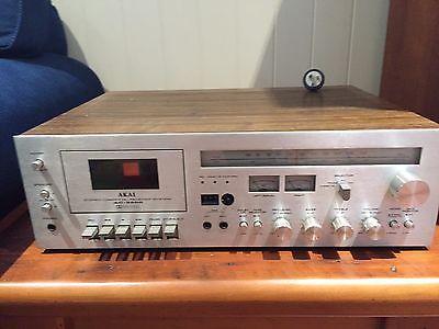 Akai-Amplipher-AC-3500-60-Watt-Stereo-Cassette-Receiver-System