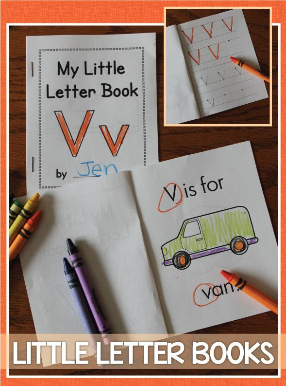 ABC Alphabet Books are perfect letter activity for your letter of the week or early literacy curriculum.  Use in literacy center, writing center, or as a take home activity.  Great for preschool and pre-k and are a great review for kindergarten.  .  These little books print 4 per page and are very easy to assemble.