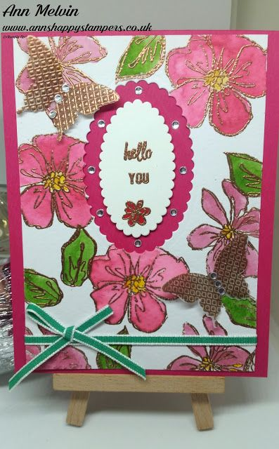 Ann's Happy Stampers: My Team Monthly Card Swaps For May