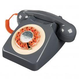 Téléphone filaire 746 Phone Concrete Grey Wild & Wolf