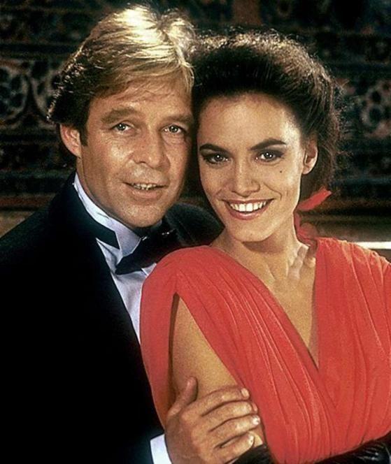 Maja Maranow mit Thomas Fritsch in der ZDF-Serie