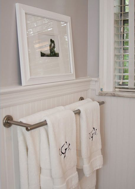 17 Best Ideas About Bathroom Towel Bars On Pinterest