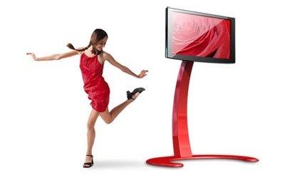 """Xelo, un innovador soporte para monitores plasma / lcd de hasta 52"""""""